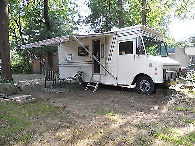 1975 Grumman Olson Step Van Camper Conversion Motorhome