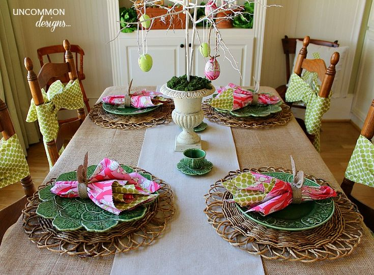 200 best easter, spring tablescapes, vignettes & crafts images on