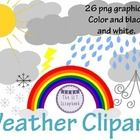 Included in this file are 26 individual clipart files, in both color and black and white (line drawing) (17 color and 9 black and white).  Suitable...