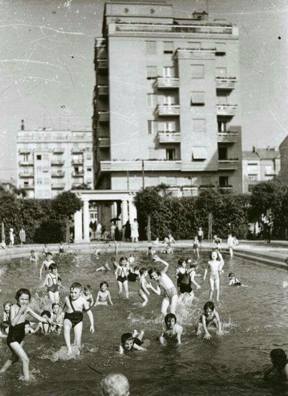 Szent István Park, Budapest [1930s].