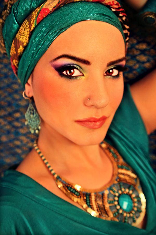 Arabian nights by Nadja Berberovic on behance.net, Model - Emina Selmanagić.