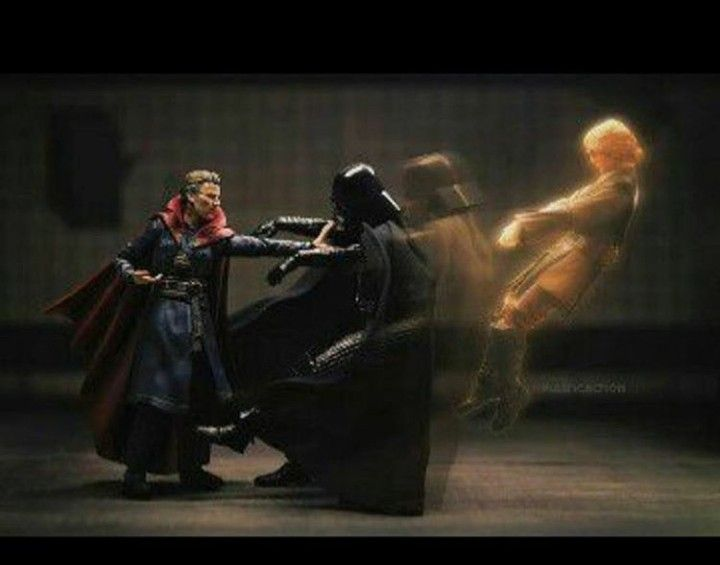 Darth Vader and Doctor Strange