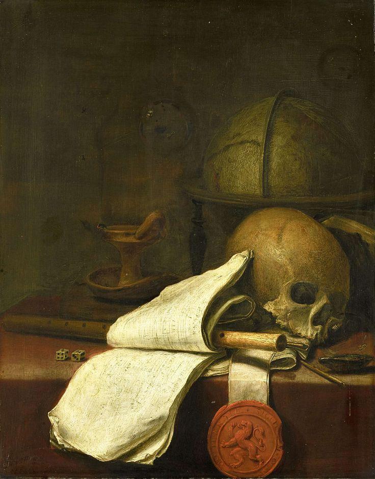 Pieter Symonsz. Potter - 1597/1600-1652 - Vanitas