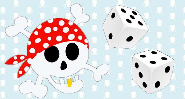 Spiele für die Piratenparty: Piratennamen würfeln