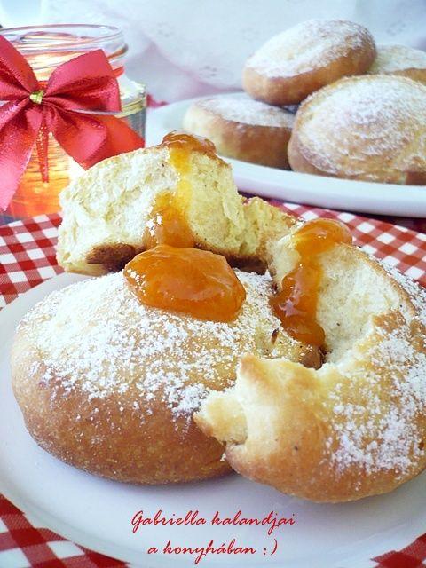 Pehelykönnyű almás csigafánk - sütőben sütve E!