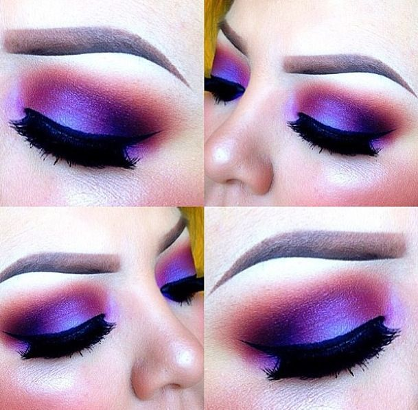 25+ best images about Purple Hues Eye Shadow on Pinterest | Purple ...