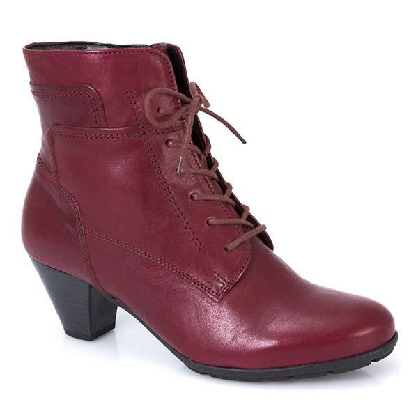 Leather Lace Up Ankle Boot (GAB26511) by Gabor @ Pavers Shoes - Your Perfect Style.