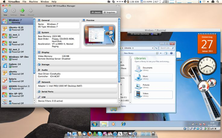 #VirtualBox is a program to create virtual operating systems on your computer. #macosx #osx