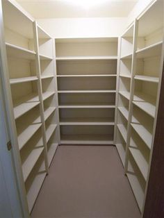 Basement Cold Cellar Storage