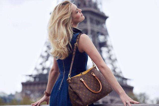 The new Louis Vuitton Pallas bag is so hot, that's sold-out online.