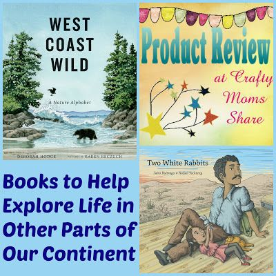 Crafty Moms Share: Two White Rabbits and West Coast Wild -- Book Reviews