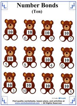 17 best ideas about number bonds to 10 on pinterest number bond games educational math games. Black Bedroom Furniture Sets. Home Design Ideas