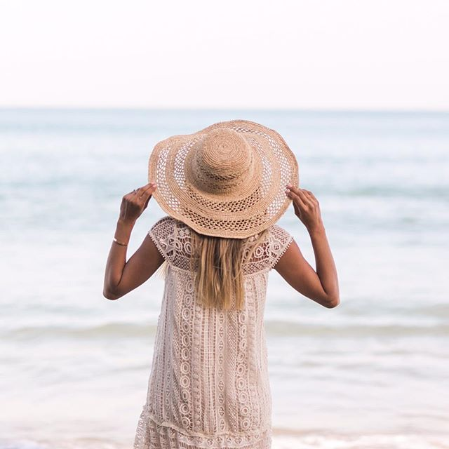 We found the perfect beach hat! Shop our new handmade hats from Madagascar at thelittlemarket.com :@valoriedarling #beachhat #summerstyle #thelittlemarket #beachstyle #malibu #Regram via @thelittlemarket