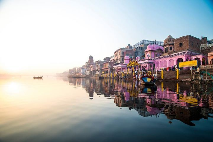 Why visit Vrindavan and Mathura in Uttar Pradesh? A visit to the land where Lord Krishna was born and raised is an experience of a different kind. Image by: Aman Chotani