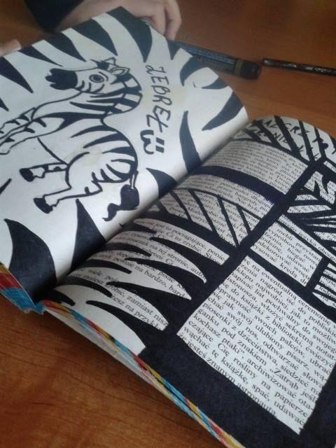 Podesłała Paulina Giszter #zniszcztendziennikwszedzie #zniszcztendziennik #kerismith #wreckthisjournal #book #ksiazka #KreatywnaDestrukcja #DIY