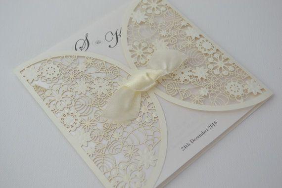 Ivory Wedding Invitation Kits: 1000+ Ideas About Ivory Wedding Invitations On Pinterest