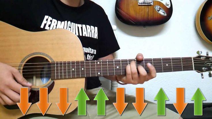 Tema Super Fácil para Guitarra Acústica - Rasgueo Melódico - Balada - Fe...