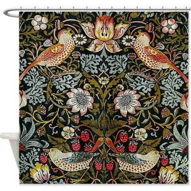 william morris shower curtain - Google Search