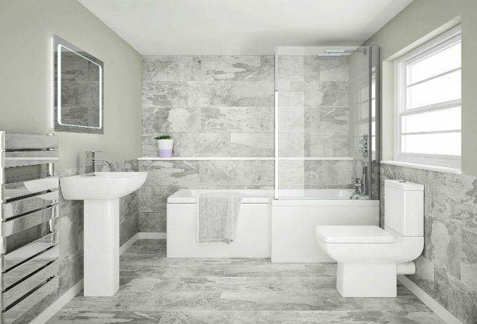 5 Big Bathroom Ideas For Small Spaces With Images Modern Small