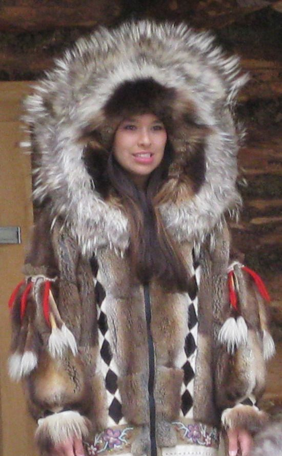 "Traditional Athabascan Coat. Let me reiterate that traditional items like this are not for ""fashion inspiration."" They are created from tens of thousands of years of tradition, and we've had enough white people steal our items and degrade their meaning that we don't appreciate when you repin this like you can just wear this. You can't. Items like this are for Indigenous only, and anything else is racist. We're not your costumes."