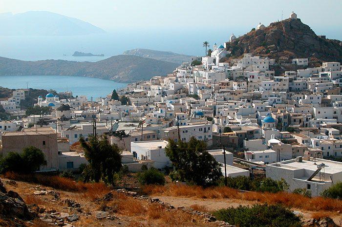Hora, the village, Ios, Greece islands