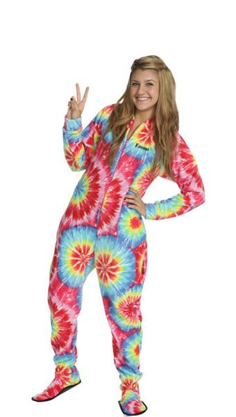 23 Best Footed Pajamas For Adults Images On Pinterest