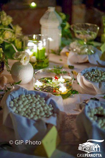 Confetti vario gusto per matrimonio serale