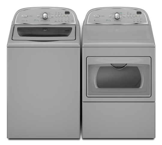 I adore my new Whirlpool Cabrio HE Washer and Dryer!! I will never own another front loading washing machine again.