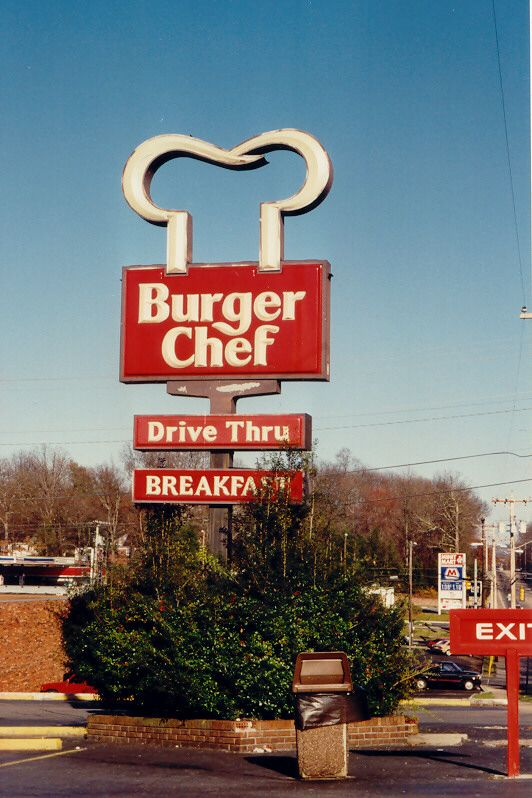 Remember Burger Chef? The last existing Burger Chef (in Cookesville, TN) closed…