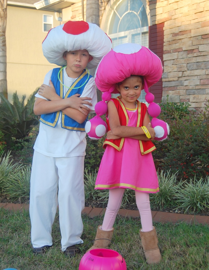 Super Mario Toad and Toadette