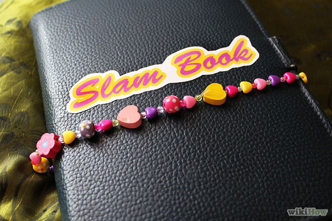 How to Make a Slam Book: 6 Steps - wikiHow