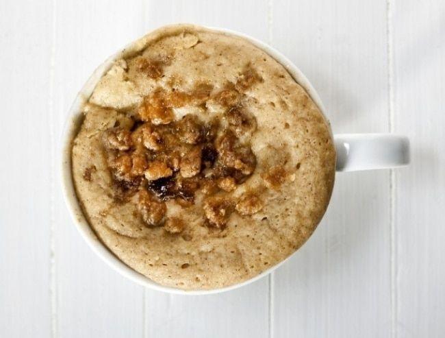 15 рецептов блюд, которые можно приготовить в кружке за 5 минут кофейный кекс