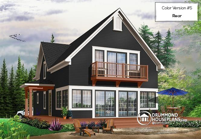 Visit our website to look at the floor plans and pictures of this home or to order the blueprints (or PDF file) and building material list for this house plan.