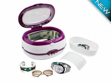 $55 for a Stainless Steel Digital Ultrasonic Jewelry Cleaner - Taxes Included ($199 Value)