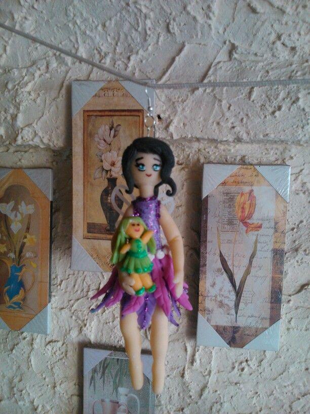 Hadita y su muñeca