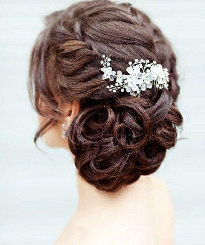 Hochzeit Frisuren Dunkle Haare Haarschnitte Beliebt In Europa