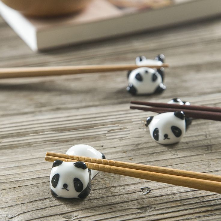 Panda Chopstick Holder