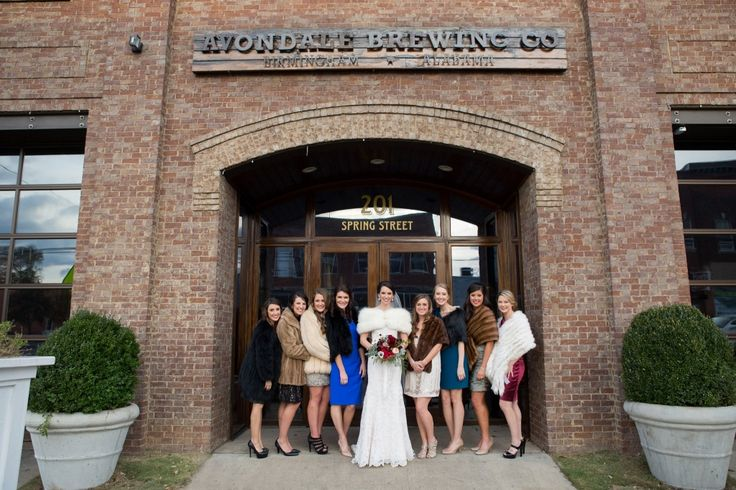 Ivey & Coby   Avondale Brewery Wedding