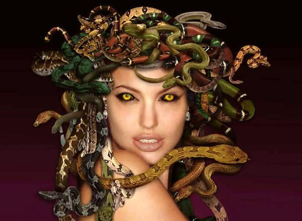 Scenario: You wake up in hell...and Medusa is going down on you ...