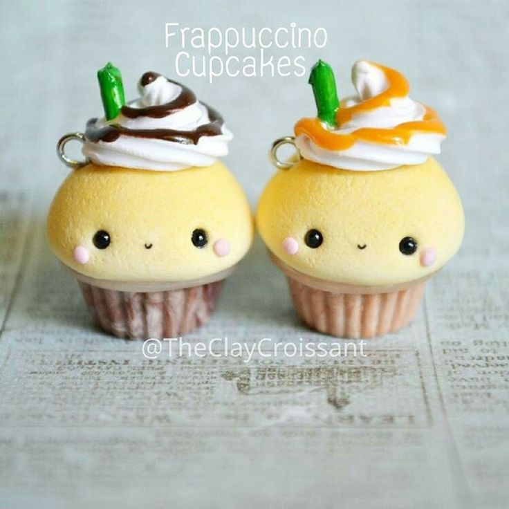 Super cute frapuchino cupcakes!
