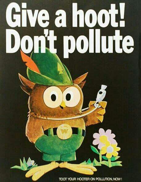 GIVE A HOOT! DON'T POLLUTE!