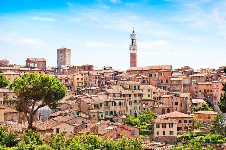 イタリア、シエナ歴史地区