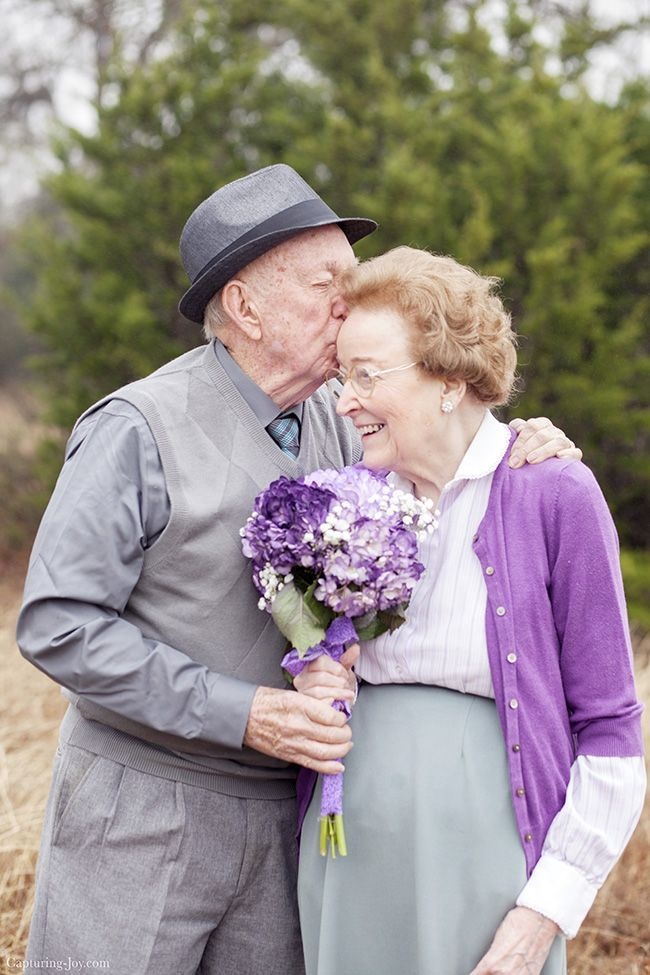 My grandparents celebrate 70 years of marriage and I interviewed them with some great relationship questions! www.Capturing-Joy...