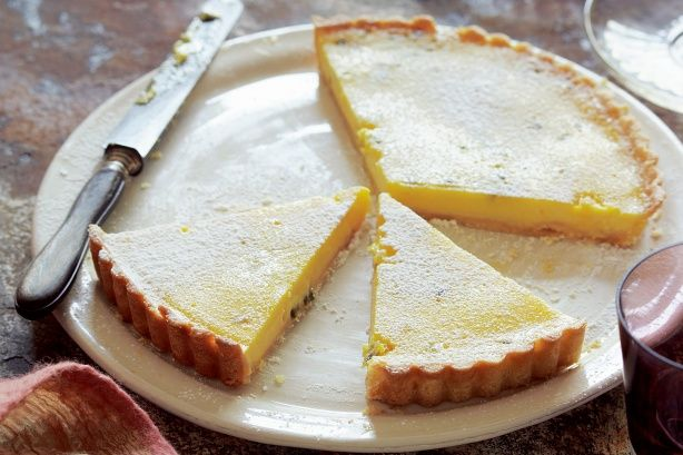 Add a tropical twist to your afternoon with this delicious passionfruit tart!