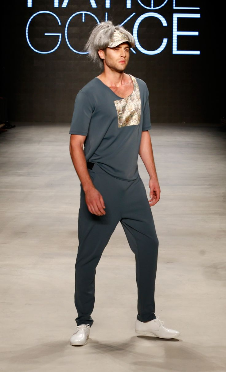"Hatice GÖKÇE Men's Collection SS15 ""The Globetrotter"" MBFWI"