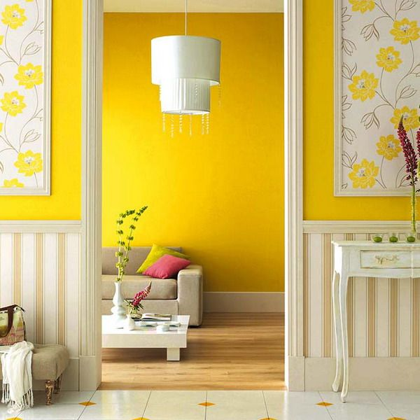 Yellow Colors For Room Decorating Color Combinations