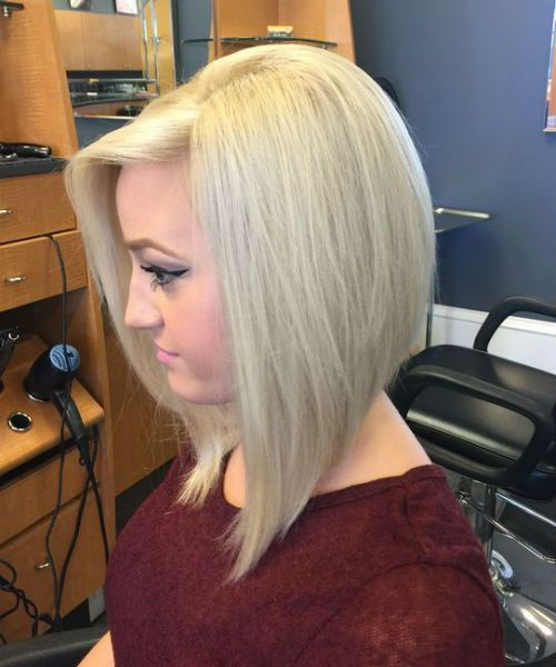 Amazing A Line Blonde Bob Hairstyles  2019  That Will Amaze