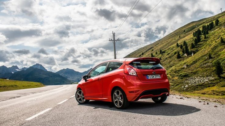 Ford Fiesta ST (HDR shot at the Kuehtai in Austria)