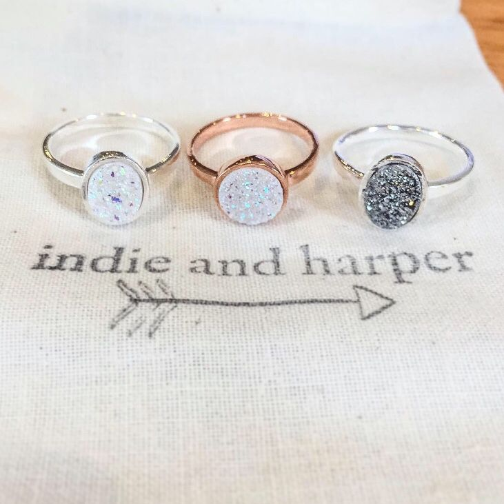 D R U Z Y || All available in our 'Gems and Stones' Collection now ❤ www.indieandharper.com