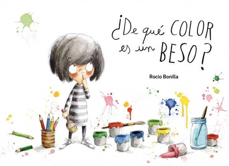 ¿De qué color es un beso?, de Rocio Bonilla